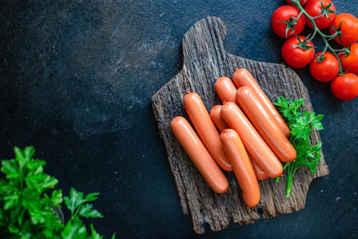 Sausages,vegetable,protein,seitan,meatless,soy,wheat,classic,taste,vegetarian