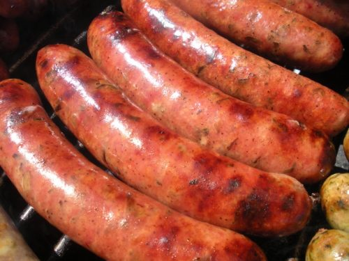 Handcrafted Smoked Sausage Links, nitrate free
