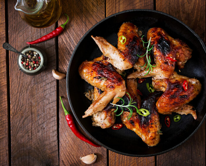 Full Chicken Wings by the Dozen